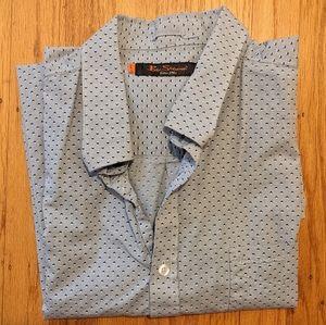 Ben Sherman Blue Print Shirt